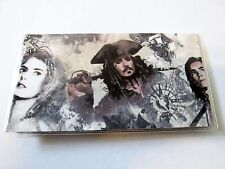 Pirates Of The Caribbean Checkbook Cover Disney Fabric Johnny Depp Film Collect