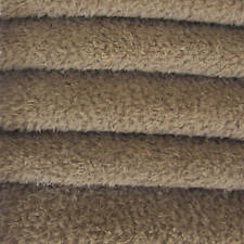 1/4 yd VIS1/SCM Mink INTERCAL 6mm Med. Dense Curly Matted German Viscose Fabric