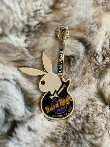 HARD ROCK CAFÉ Pin Badge - March 1st 2001 Hotel Las Vegas Playboy Bunny