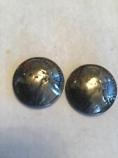 New listing Vintage Jefferson 5c Shank Buttons (set of 2) 1950's Year (See R Others) Aloha