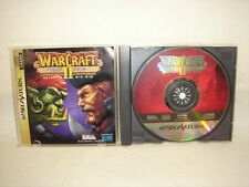 WAR CRAFT II 2 the Dark Saga Item REF/bbc Sega Saturn Import Japan Video Game ss