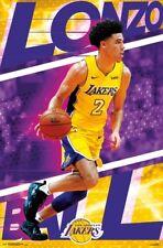 LONZO BALL - LA LAKERS POSTER - 22x34 NBA BASKETBALL 16284