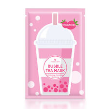[ANNIE'S WAY] Strawberry Revitalizing Brightening Bubble Tea Facial Mask 5pc NEW