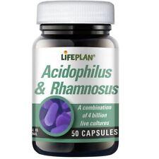 Lifeplan L.Acidophilus & Rhamnosus 50 caps
