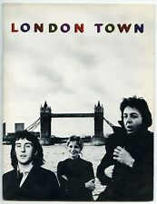 Paul McCartney & Wings 1978 London Town Promotional Press Kit (USA)