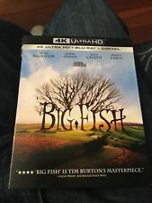 Big Fish (2003, 4K Ultra Hd/Blu-ray) W/Slipcover *No Digital* 2-Disc Set