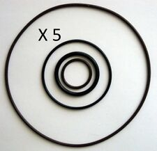 5 X  O Ring sets of 4  for VICTA 2 stroke Power torque engines . Carby & starter