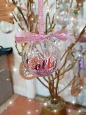 Peronalised Navidad Bolas (6cm)