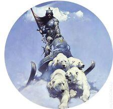 Frank Frazetta Nip * Silver Warrior * 2.25-Inch Magnet Dark Horse Comics Art