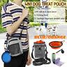 Dog Puppy Cat Treat Training Walk Food Pouch Dispenser Bag Adjustable Waist Belt