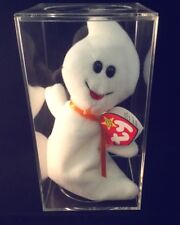 """Rare """"Spooky"""" Ty Beanie Baby With Multiple Errors On Tag"""