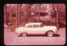 1950s ektachrome photo slide  Car automobile