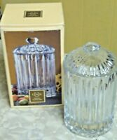 New Lenox Covered Box With Lid vanity Jar Conister #6344964 IOB