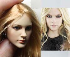 KUMIK Avril Lavigne 1/6 Head Sculpt for Custom Hot Toys Phicen Female Body