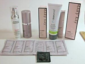 Mary Kay Lot Volu-Firm Eye Cream, Gel Mask Replenishing C Serum etc Lot of 8
