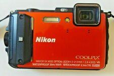 Nikon Coolpix AW130 16.0MP Digital Camera Orange