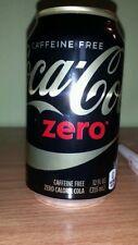 Coca Cola zero USA, 1 volle Dose , caffeinefree
