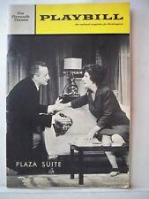 PLAZA SUITE Playbill NEIL SIMON / GEORGE C SCOTT / MAUREEN STAPLETON NYC 1968