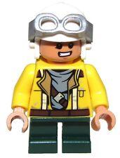 Lego New Rowan Helmet and Goggles Minifigure Figure from Set 75147 Fig