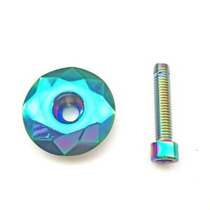 Bicycle Headset Cover Top Tube Cap Screw Stem Spacers Mountain