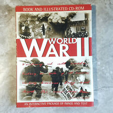 World War II, Book and Illustrated, Hardcover, In Great Condition. (No CD-ROM)
