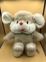 Vintage Large 1989 Commonwealth Mouse Rat Plush Soft Stuffed Toy Animal Doll