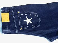BLACK JEANS WITH SILVER STAR EXCELLENT QUALITY