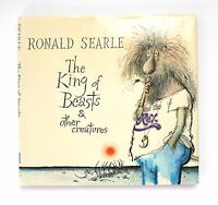 1980 Ronald Searle The King of Beasts & Other Creatures 1st Edition Vintage Book