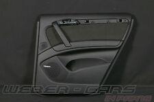 Audi Q7 4L Türverkleidung Alcantara Tür Verkleidung hinten rechts Schwarz BOSE