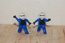 2 LEGO Mr. Freeze Action Figure Batman 2008 DC Comics Universe MCDONALDS Mister