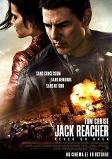 Affiche 120x160cm JACK REACHER : NEVER GO BACK (2016) Tom Cruise NEUVE