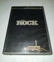 The Rock (DVD, 2001, 2-Disc Set, *RARE Criterion Collection)