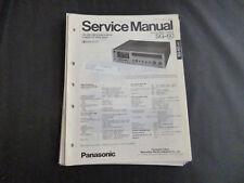 Original Service Manual Panasonic SG-60