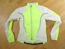 Specialized Hybrid Cycling Windbreaker Jacket Vest Tank Safety Yellow Womens M