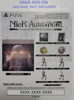 NieR Automata Game Of The YoRHa Edition Content PS4