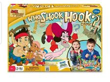 Disney's Jake and the Never Land Pirates Who Shook Hook Board Game EUC