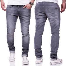 7 SEVEN for all Mankind Herren Jeans Hose RONNIE Hellgrau Slim Fit NEU