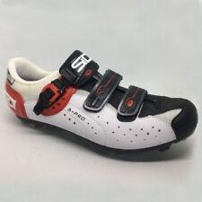 Chaussures Vélo Route Sidi Genius 5 pro Blanc / Noir / Rouge