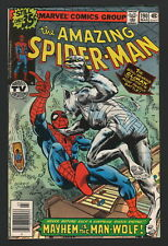 Amazing Spider-Man #190, 1979, Marvel Comics, Fn Condition, The Man-Wolf!