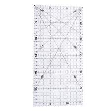1Pc patchwork ruler quilting tools acrylic material transparent ruler scaleMAEK