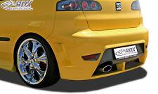 RDX Stoßstange SEAT Ibiza 6L Heck Schürze Cupra Look Hinten Spoiler Diffusor