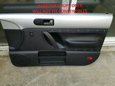 98 99 00 01 02 03 04 05 10 VW Beetle PASSENGER RIGHT Side Door Panel SILVER READ