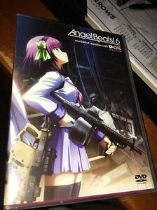 ANGEL BEATS 6 DVD NTSC Region 3 VGC