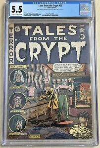Tales From The Crypt 25 cgc 5.5 Pre-Code Horror From 1951!! 0321622002