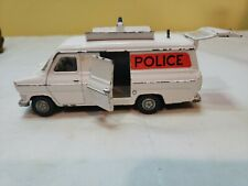 Vintage Dinky Diecast Toys Ford Transit  Police Van Made In England