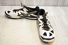 Asics Gel-Tactic 2 Athletic Shoes - Men's Size 15 - White/Black/Gold