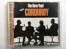 """CORDUROY """"The New You"""" CD; PCCY-01089 CD; JAPAN 1997; Mint Condition; ACID JAZZ"""