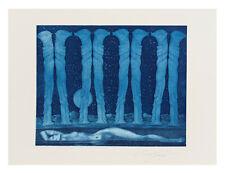 Ernst Fuchs, Radierung, signiert und nummeriert