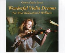 CD GOMER EDWIN EVANSwonderful violin dreamsEXNEW AGE  (R2108)
