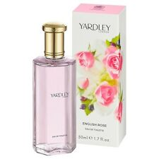 Yardley London English Rose 50ml Eau De Toilette Perfume for Women